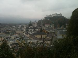 A grey day in Salzburg